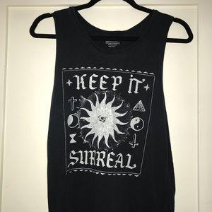 """Keep it Surreal"" tank top"